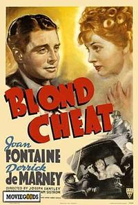 Blond Cheat - 27 x 40 Movie Poster - Style A