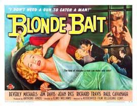 Blonde Bait - 22 x 28 Movie Poster - Half Sheet Style A