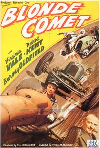 Blonde Comet - 43 x 62 Movie Poster - Bus Shelter Style A