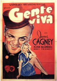 Blonde Crazy - 11 x 17 Movie Poster - Spanish Style A