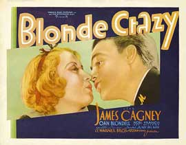 Blonde Crazy - 11 x 14 Movie Poster - Style A