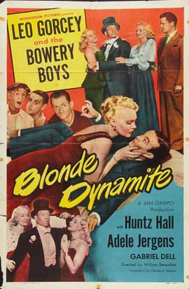 Blonde Dynamite - 27 x 40 Movie Poster - Style A