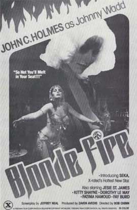 Blonde Fire - 11 x 17 Movie Poster - Style A