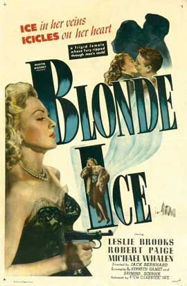 Blonde Ice - 11 x 17 Movie Poster - Style E