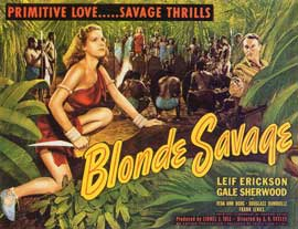 Blonde Savage - 11 x 14 Movie Poster - Style A