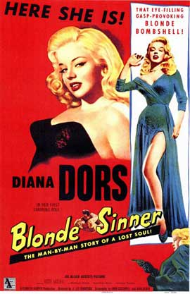 Blonde Sinner - 11 x 17 Movie Poster - Style A