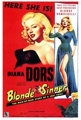 Blonde Sinner - 27 x 40 Movie Poster - Style A