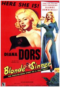 Blonde Sinner - 43 x 62 Movie Poster - Bus Shelter Style A