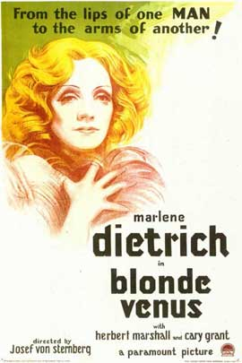Blonde Venus - 11 x 17 Movie Poster - Style B