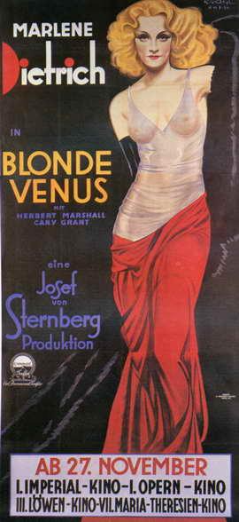 Blonde Venus - 14 x 36 Movie Poster - Insert Style A