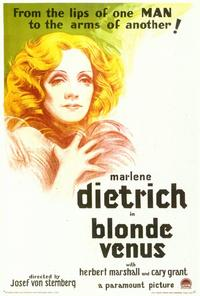 Blonde Venus - 27 x 40 Movie Poster - Style B