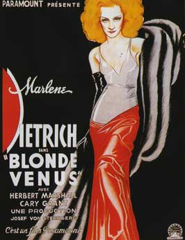 Blonde Venus - 11 x 17 Movie Poster - French Style A