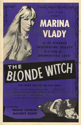 Blonde Witch - 11 x 17 Movie Poster - Style A