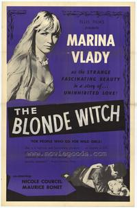 Blonde Witch - 27 x 40 Movie Poster - Style A