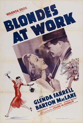 Blondes at Work - 11 x 17 Movie Poster - Style A