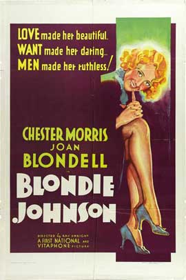 Blondie Johnson - 11 x 17 Movie Poster - Style A