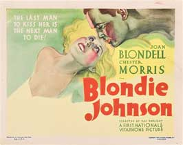 Blondie Johnson - 11 x 14 Movie Poster - Style B