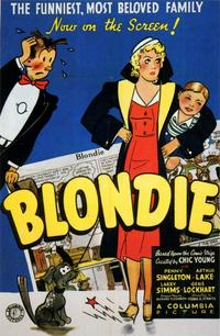 Blondie - 11 x 17 Movie Poster - Style A