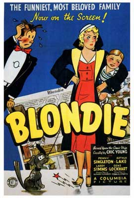 Blondie - 27 x 40 Movie Poster - Style A