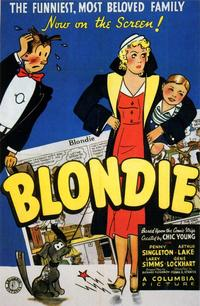 Blondie - 43 x 62 Movie Poster - Bus Shelter Style A