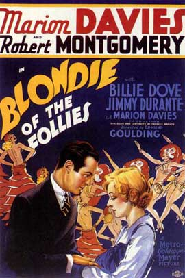 Blondie of the Follies - 27 x 40 Movie Poster - Style A