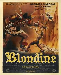 Blondine - 43 x 62 Movie Poster - French Style A