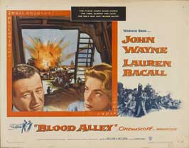 Blood Alley - 22 x 28 Movie Poster - Half Sheet Style A