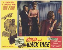 Blood and Black Lace - 11 x 14 Movie Poster - Style E