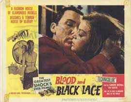 Blood and Black Lace - 11 x 14 Movie Poster - Style G
