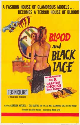 Blood and Black Lace - 11 x 17 Movie Poster - Style A