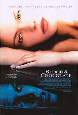 Blood and Chocolate - 27 x 40 Movie Poster - Style A