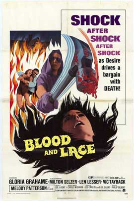 Blood and Lace - 11 x 17 Movie Poster - Style A