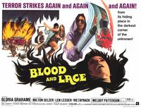 Blood and Lace - 11 x 14 Movie Poster - Style A