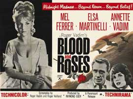 Blood and Roses - 11 x 17 Movie Poster - Italian Style A