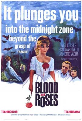 Blood and Roses - 27 x 40 Movie Poster - Style B