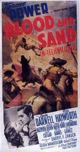 Blood and Sand - 11 x 17 Movie Poster - Style B