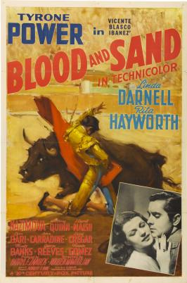 Blood and Sand - 11 x 17 Movie Poster - Style D