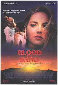 Blood and Sand - 43 x 62 Movie Poster - Bus Shelter Style A