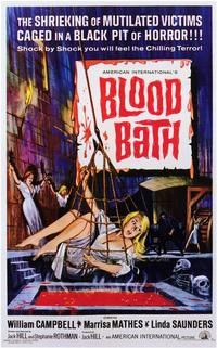 Blood Bath - 43 x 62 Movie Poster - Bus Shelter Style A
