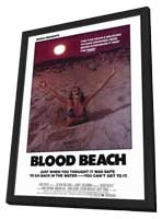 Blood Beach - 11 x 17 Movie Poster - Style A - in Deluxe Wood Frame