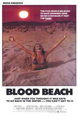 Blood Beach - 27 x 40 Movie Poster - Style B