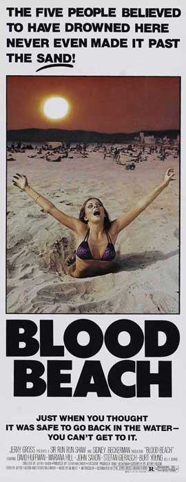 Blood Beach - 14 x 36 Movie Poster - Insert Style A