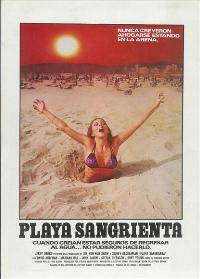 Blood Beach - 11 x 17 Movie Poster - Spanish Style A