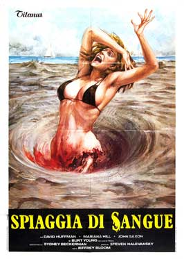 Blood Beach - 27 x 40 Movie Poster - Italian Style A