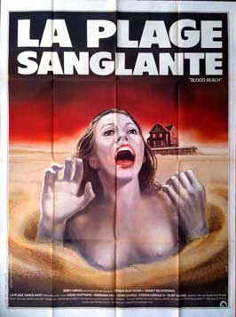 Blood Beach - 11 x 17 Movie Poster - French Style A
