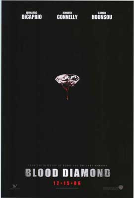 Blood Diamond - 27 x 40 Movie Poster - Style A