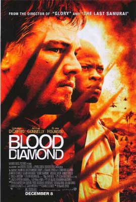 Blood Diamond - 11 x 17 Movie Poster - Style B