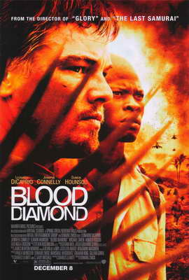 Blood Diamond - 27 x 40 Movie Poster - Style B