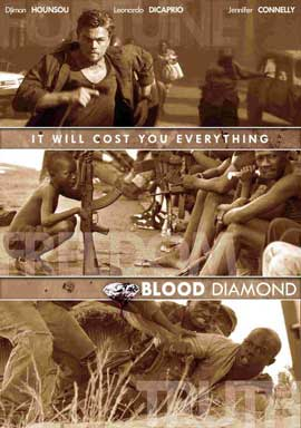Blood Diamond - 11 x 17 Movie Poster - Style D