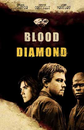 Blood Diamond - 11 x 17 Movie Poster - Style F